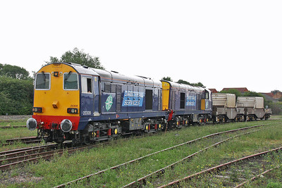 20309 Bridgwater 28/07/11 6M67 to Crewe with 20308