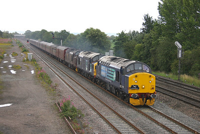 37510 Didcot 17/07/11 1Z38 Euston to Crewe with 37087 and 37706