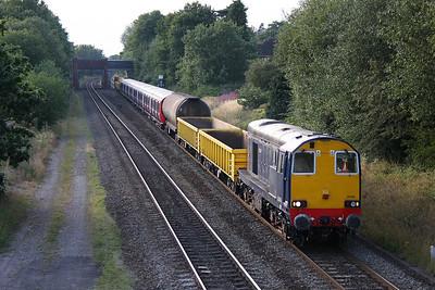 20305 Dorridge 27/07/11 8X09 Old Dalby to Amersham