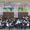 """Tribune-Star/Rachel Keyes<br /> Warm-up: The Greater Greenwood Community Band readies to start their performance at the """"On the Banks of the Wabash"""" Community Band Festival they were joined by six other community bands from around the area."""