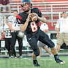 Looking: South quarterback Danny Etling looks for an open receiver during Friday's game against Northview.