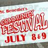 Festival: Sign detail