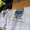 Tribune-Star/Jim Avelis<br /> Fundraiser: The first lot of 600 t-shirts will be available at today's visitation at Hulman Center.