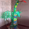 Tribune-Star/Jim Avelis<br /> Treasure: This plastic dragon by Jason Schearer, made from two-liter pop bottles, is an aexample of what can be made in the upcoming four day camp at  the Terre Haute Children's Museum.