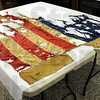 Civil War remains: The remains of a Civil War Flag have been discovered in the Sullivan County Historical Museum. The Flag was shot to pieces by a group of rebels sympathetic to the South.