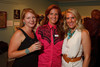 (Golden, Colorado, July 16, 2011)<br /> Katy Bock, Reilly Sanborn (FAC executive director), and Jill Hodges.  RockWest, a fundraiser for the Foothills Art Center, at the Foothills Art Center in Golden, Colorado, on Saturday, July 16, 2011.<br /> STEVE PETERSON