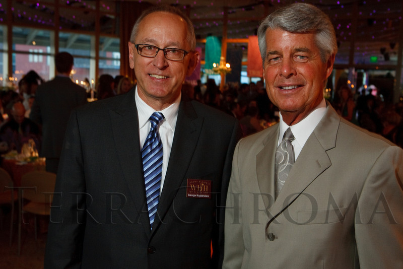 "(Denver, Colorado, July 16, 2011)<br /> George Bogdewiecz (JBWOL CEO) and Ed Greene.  Jeremy Bloom's Wish of a Lifetime foundation third annual ""The Evening Affair,"" themed ""A Midsummer Night's Wish,"" at the Donald R. Seawell Grand Ballroom, Denver Center for Performing Arts, in Denver, Colorado, on Saturday, July 16, 2011.<br /> STEVE PETERSON"