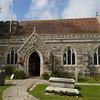Ein Dorfkirche im Sueden Englands.