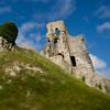 Corfe Castle...oder was davon noch uebrig ist