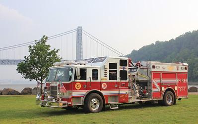 June 1 - Fort Lee Co # 4 at George Washington Bridge