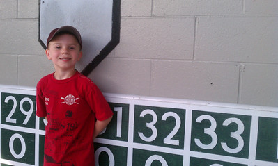 June 18-20 - PawSox Game/Quinn's T-Ball/Mets Game
