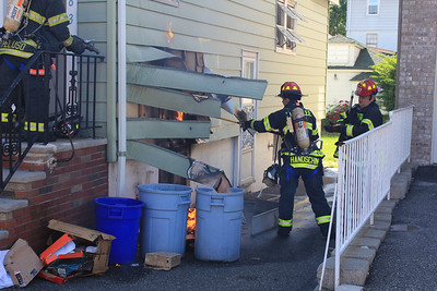 June 2 - 1583 Anne St, Fort Lee - Working House Fire