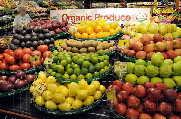 New section: Kroger offers a new Organic Produce section in their newly remodeled store.