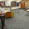 Tribune-Star/Jim Avelis<br /> It all adds up: Scott Borders teaches a summer school Algebra class at Shakamak High School. Over four years the Greene county school brought its attendance rate up 20 points from 70% to 90%.