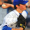 Tribune-Star/Jim Avelis<br /> Starter: Chris Nunn was the starting pitcher for the Rex in their home opener Thursday evening.