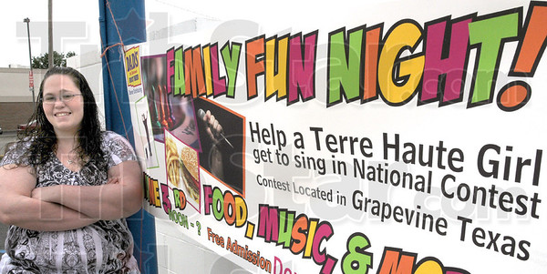 National contest: Jamie Fagg hopes to participate in a national karaoke contest in Grapevine, Texas.