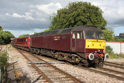 47804 Basingstoke 07/06/11 on the rear of 1Z16 Poole to Liverpool Lime Street
