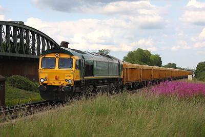 66741 Battledown 30/06/11 6M96 Mountsorrel to Eastleigh