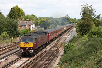 47804 Worting Jct 07/06/11 1Z51 Liverpool Lime Street to Poole