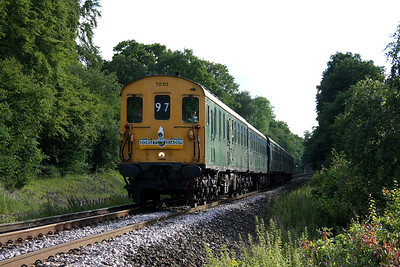 1001 Battledown 25/06/11 1Z97 Swanage to Hastings 'The Dorest Diadem'
