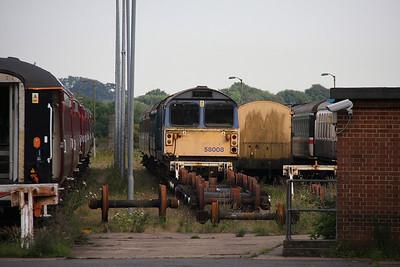 58008 Eastleigh 27/06/11