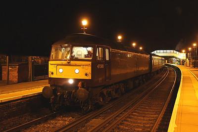 47500 Alton 19/06/11 preparing to leave with the 5Z96 Alton to Southall ecs