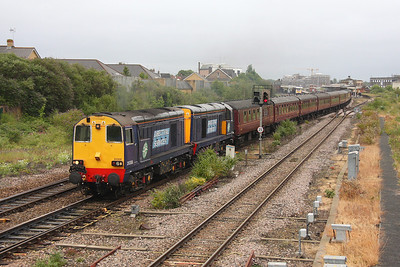 20308 Taunton 25/06/11 1Z37 Gloucester to Penzance 'The Kernow Voyager' with 20309