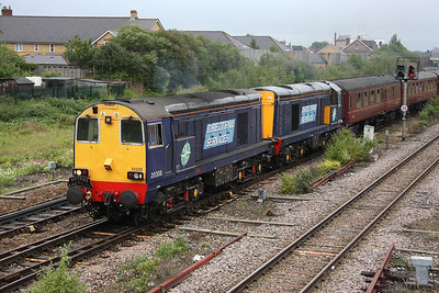 20308 Taunton 25/06/11 1Z37 Gloucester to Penzance with 20309