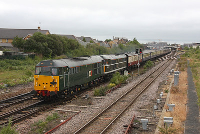 31601 Taunton 25/06/11 1Z20 Tame Bridge Parkway to Penzance 'The Mazey Day Cornishman' with 31190
