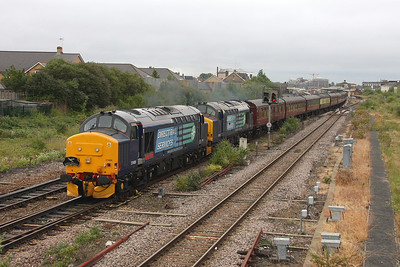 37409 Taunton 25/06/11 1Z31 Birmingham International to Penzance 'The Kernow Explorer III' with 37229