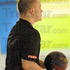 Tribune-Star/Rachel Keyes<br /> Focused: Danny Neill focuses before preparing to bowl in the Annual Terre Haute Open.