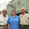 Tribune-Star/Jim Avelis<br /> Family affair: Albert Siebenmorgan with Delania and Bill Siebenmorgan.