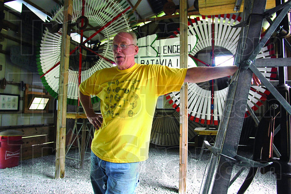 Neal: Neal is the owner-operator of The Windmills near Poland, Indiana in Clay County.