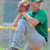 Tribune-Star/Jim Avelis<br /> On target: By the numbers it was 95 degrees, 119 pitches, 7 innings and 0 runs for North Central junior pitcher Connor Strain.