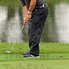 Lipped: Terre Haute South's Thomas Goss watches at the instant his ball appears to drop into the hole but actually lipped out during State Finals action.