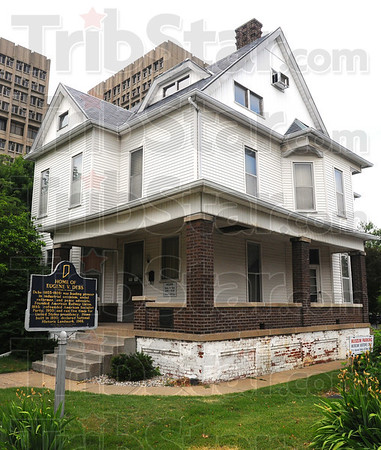 Tribune-Star/Jim Avelis<br /> Home sweet home: The Eugene V. Debs home on North Eighth street is a museum honoring the memory of the co-founder of the American Socialist Party and five time presidential candidate.