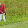 Rough day: South golfer Shelby Stewart comes out of the rough behind the green during Wednesday's State Finals event at The Legends Golf Course.