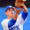 Tribune-Star/Jim Avelis<br /> Home for the summer: Jacob Hayes, Rex shortstop and former Terre Haute South Brave is back in town.