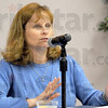 Deputy Attorney General: Anne Mullin O'Conner speaks during Wednesday's Public Access Seminar on the Indiana State University campus.