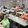 Access seminar: The Public Access Seminar participants listen to the panel of speakers during Wednesday's event on the ISU campus.