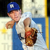 Pitch: Rex pitcher Daniel Heefner throws a pitch during Wednesday's game at Bob Warn Field.
