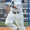 Tribune-Star/Jim Avelis<br /> Round trip: Koby Kraemer heads to home on a solo home run against Quincy.
