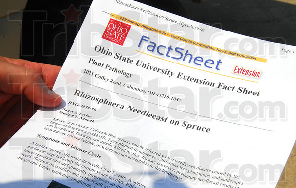 Fact Sheet: Detail of fact sheet sown by Purdue Extension Educator Jim Luzar Tuesday afternoon.