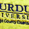Detail: Purdue Extension Logo detail.