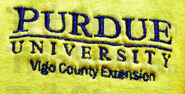 Detail: Purdue Extension Logo detail.