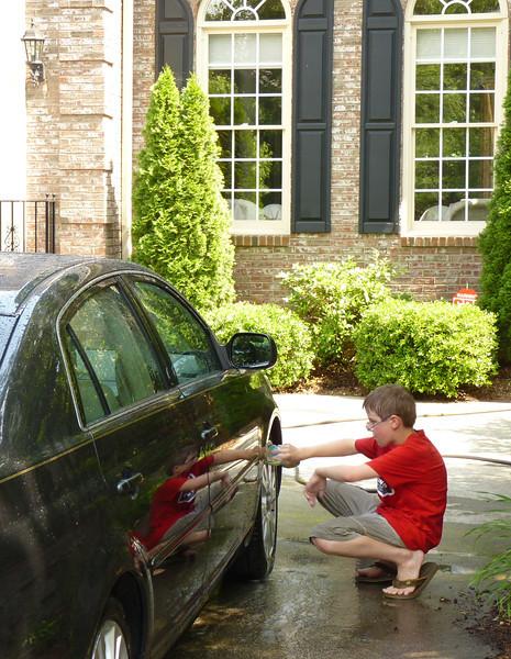Jacob and Anthony's car wash