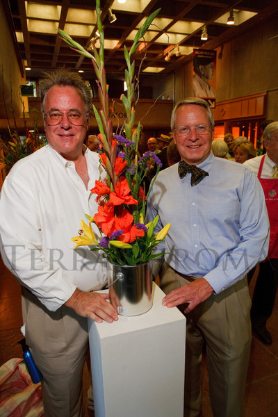 (Denver, Colorado, June 2, 2011)<br /> Tom White and David Dodge.  Garden Club of Denver event at the Denver Botanic Gardens in Denver, Colorado, on Thursday, June 2, 2011.<br /> STEVE PETERSON