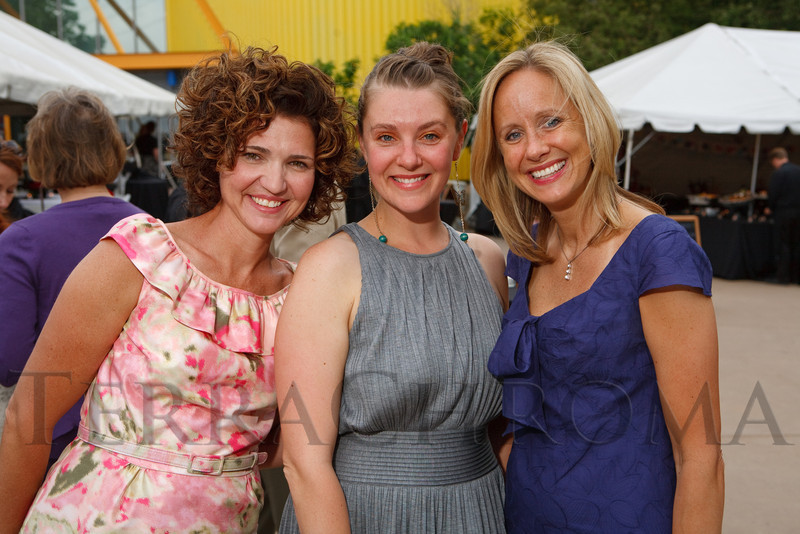 (Denver, Colorado, June 3, 2011)<br /> Gretchen Kerr (Chief Museum Officer), Zoe Ocampo, and Lisa Andersson.  Children's Museum Birthday Bash at the Children's Museum of Denver in Denver, Colorado, on Friday, June 3, 2011.<br /> STEVE PETERSON