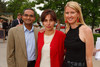 (Denver, Colorado, June 3, 2011)<br /> Vatsala (CMD board of directors chair) and Arun Pathy with Caroline Joy (CMD grant specialist).  Children's Museum Birthday Bash at the Children's Museum of Denver in Denver, Colorado, on Friday, June 3, 2011.<br /> STEVE PETERSON