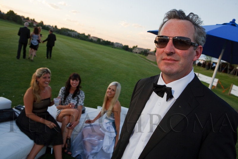 (Littleton, Colorado, June 24, 2011)<br /> The Del Frisco's - Sullivan's Black Tie Ball, benefitting Denver Active 20-30 Children's Foundation, at Polo Reserve Development in Littleton, Colorado, on Friday, June 24, 2011.<br /> STEVE PETERSON